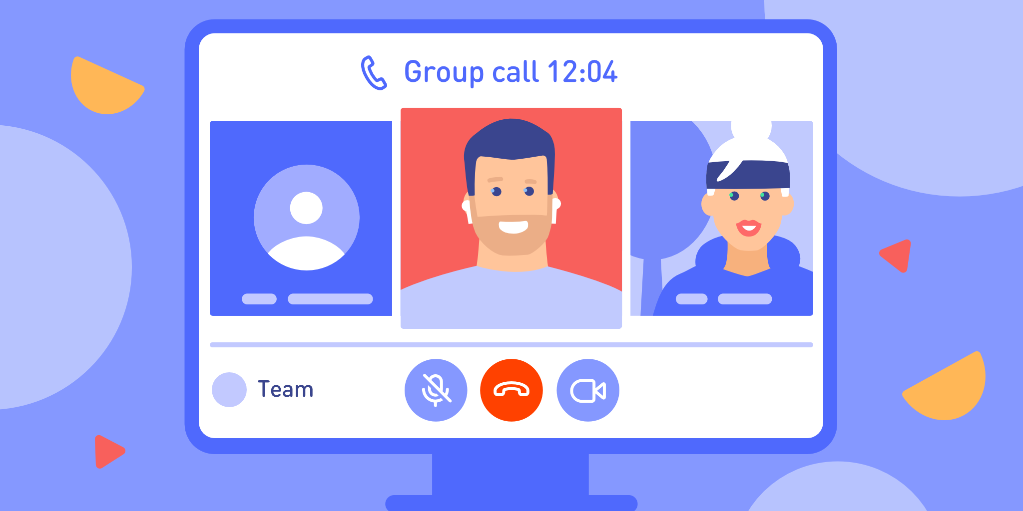 group calls in TamTam
